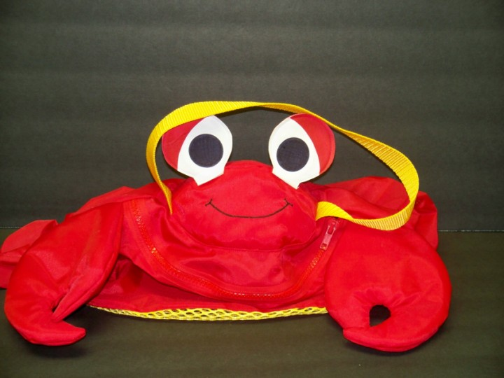 Crab Toy Tote